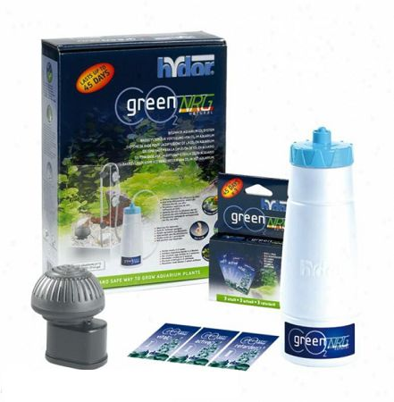 Hydor CO2 Green NRG Natural система CO2 для растений от интернет-магазина STELLEX AQUA