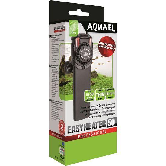 Aquael Easyheater EH-50W нагреватель для аквариума пластиковый с терморегулятором, 50 Вт 103198