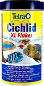 TetraCichlid XL Flakes основной корм для цихлид и других крупных рыб, крупные хлопья 500 мл от интернет-магазина STELLEX AQUA
