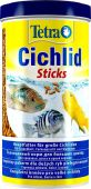 TetraCichlid Sticks основной корм для цихлид и других крупных рыб, палочки 1 л от интернет-магазина STELLEX AQUA